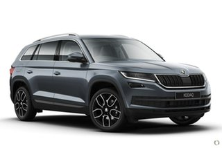 2021 Skoda Kodiaq NS MY21 132TSI DSG Grey 7 Speed Sports Automatic Dual Clutch Wagon.
