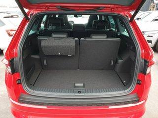 2020 Skoda Kodiaq NS MY21 132TSI DSG Sportline Red 7 Speed Sports Automatic Dual Clutch Wagon