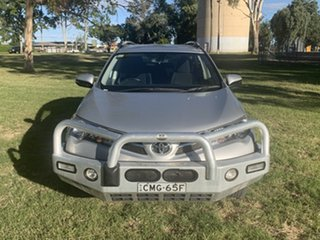 2013 Toyota RAV4 ALA49R GXL AWD Silver Pearl 6 Speed Sports Automatic Wagon.