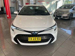2019 Toyota Corolla ZWE211R Ascent Sport E-CVT Hybrid Black 10 Speed Constant Variable Hatchback.