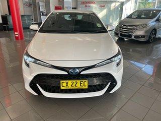 2019 Toyota Corolla ZWE211R Ascent Sport E-CVT Hybrid Black 10 Speed Constant Variable Hatchback.
