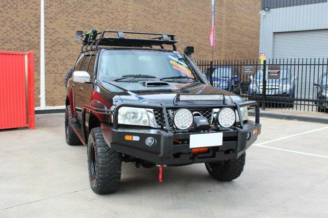Used Nissan Patrol GU VI ST (4x4) Hoppers Crossing, 2009 Nissan Patrol GU VI ST (4x4) Black 5 Speed Manual Wagon