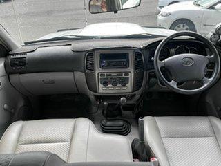 2005 Toyota Landcruiser HZJ105R Upgrade Turbo (4x4) White 5 Speed Manual 4x4 Wagon