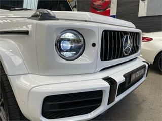 2019 Mercedes-Benz G-Class W463 G63 AMG White Sports Automatic Wagon
