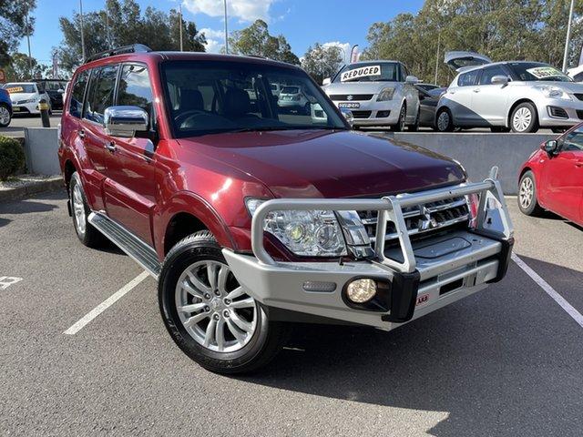 Used Mitsubishi Pajero NX MY18 GLS Maitland, 2018 Mitsubishi Pajero NX MY18 GLS Terra Rossa 5 Speed Sports Automatic Wagon