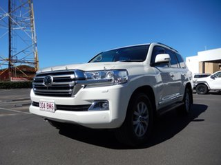 2017 Toyota Landcruiser VDJ200R MY16 Sahara (4x4) Crystal Pearl 6 Speed Automatic Wagon