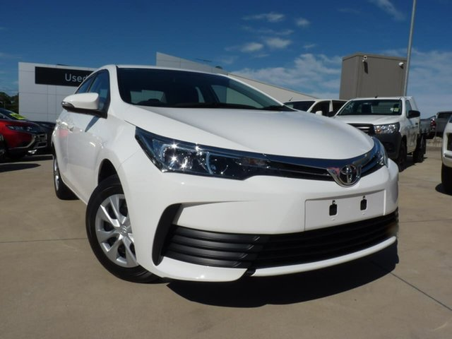 Pre-Owned Toyota Corolla ZRE172R Ascent S-CVT Blacktown, 2019 Toyota Corolla ZRE172R Ascent S-CVT Glacier White 7 Speed Constant Variable Sedan