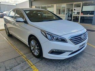 2015 Hyundai Sonata LF Active Ice White 6 Speed Sports Automatic Sedan.