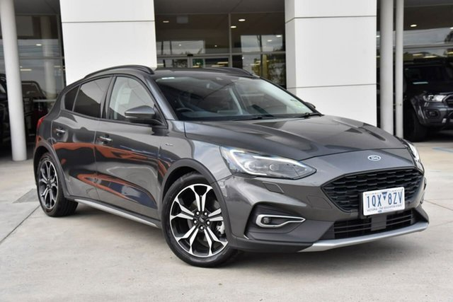 Used Ford Focus SA 2019.25MY Active Oakleigh, 2019 Ford Focus SA 2019.25MY Active Grey 8 Speed Automatic Hatchback