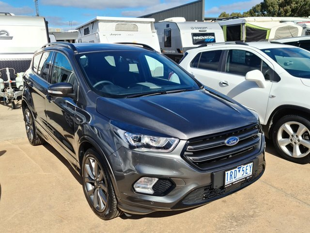 Used Ford Escape ZG 2019.25MY ST-Line Epsom, 2019 Ford Escape ZG 2019.25MY ST-Line Grey 6 Speed Sports Automatic SUV