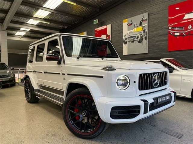 Used Mercedes-Benz G-Class Glebe, 2019 Mercedes-Benz G-Class W463 G63 AMG White Sports Automatic Wagon