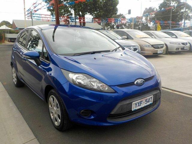 Used Ford Fiesta WT CL Newtown, 2012 Ford Fiesta WT CL Blue 6 Speed Automatic Sedan