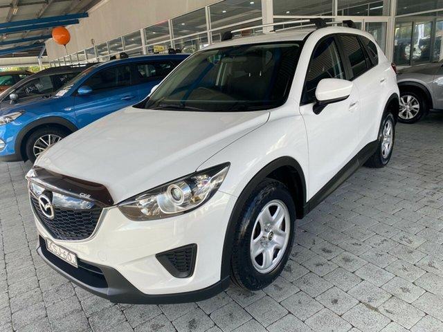 Used Mazda CX-5 MY13 Upgrade Maxx Taree, 2014 Mazda Default MY13 Upgrade Maxx Crystal White Pearl 6 Speed Sports Automatic Wagon