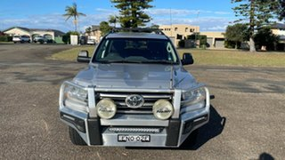 2016 Toyota Landcruiser VDJ200R GXL Silver 6 Speed Sports Automatic Wagon.