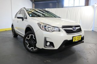 2016 Subaru XV G4X MY17 2.0i Lineartronic AWD Special Edition White 6 Speed Constant Variable Wagon.