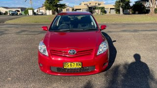 2012 Toyota Corolla ZRE152R MY11 Ascent Red 6 Speed Manual Hatchback.