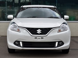 2021 Suzuki Baleno EW Series II GL White 5 Speed Manual Hatchback.