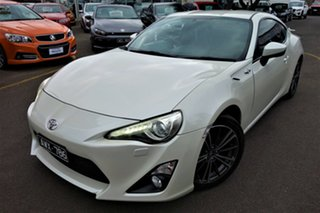 2013 Toyota 86 ZN6 GTS White 6 Speed Sports Automatic Coupe.