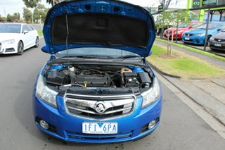 2010 Holden Cruze JG CDX Blue 6 Speed Sports Automatic Sedan