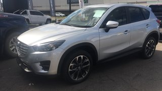 2015 Mazda CX-5 KE1022 Grand Touring SKYACTIV-Drive AWD Silver 6 Speed Sports Automatic Wagon