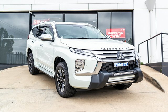 Demo Mitsubishi Pajero Sport QF MY20 Exceed Phillip, 2020 Mitsubishi Pajero Sport QF MY20 Exceed White 8 Speed Sports Automatic Wagon