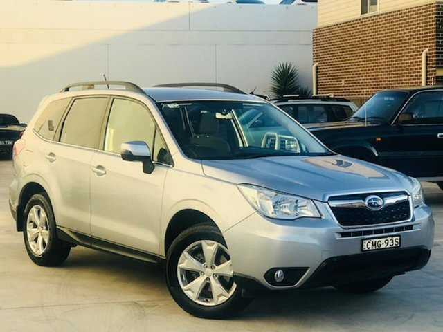 Used Subaru Forester S4 MY13 2.5i-L Lineartronic AWD Liverpool, 2013 Subaru Forester S4 MY13 2.5i-L Lineartronic AWD Silver, Chrome 6 Speed Constant Variable Wagon
