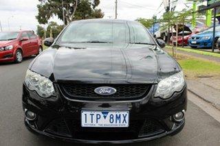 2008 Ford Falcon FG XR6 Black 6 Speed Sports Automatic Sedan.