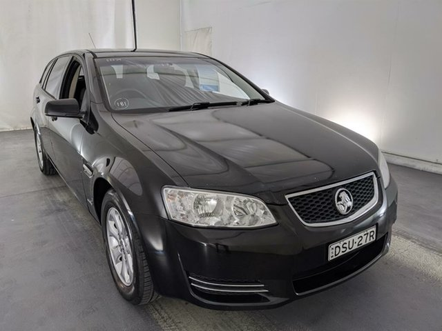 Used Holden Commodore VE II MY12 Omega Sportwagon Maryville, 2012 Holden Commodore VE II MY12 Omega Sportwagon Black 6 Speed Sports Automatic Wagon