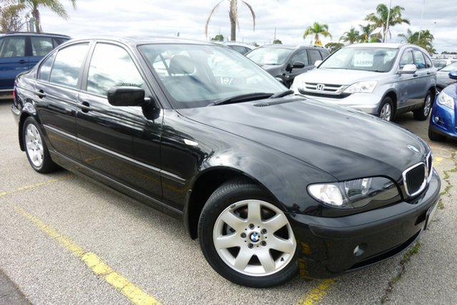Used BMW 3 Series E46 MY2004 318i Steptronic Cheltenham, 2004 BMW 3 Series E46 MY2004 318i Steptronic Black 5 Speed Sports Automatic Sedan