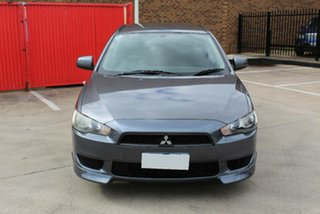 2009 Mitsubishi Lancer CJ MY10 ES Grey 6 Speed CVT Auto Sequential Sedan.