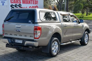 2012 Ford Ranger PX XLT Double Cab Gold 6 Speed Sports Automatic Utility