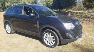 2013 Holden Captiva CG Series II 5 Black Sports Automatic SUV.