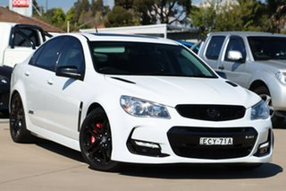 2017 Holden Commodore VF II MY17 SS V Redline White 6 Speed Sports Automatic Sedan.