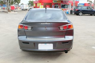 2009 Mitsubishi Lancer CJ MY10 ES Grey 6 Speed CVT Auto Sequential Sedan