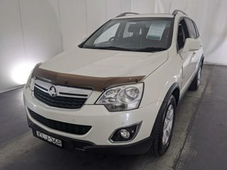 2011 Holden Captiva CG Series II 5 AWD White 6 Speed Sports Automatic Wagon.