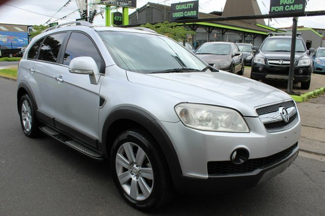 Used Holden Captiva CG MY10 LX AWD West Footscray, 2011 Holden Captiva CG MY10 LX AWD Silver 5 Speed Sports Automatic Wagon
