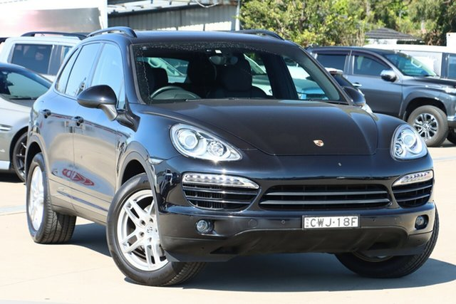 Used Porsche Cayenne 92A MY15 Diesel Tiptronic Chullora, 2014 Porsche Cayenne 92A MY15 Diesel Tiptronic Black 8 Speed Sports Automatic Wagon