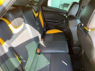 2013 Ford Focus LW MkII ST Yellow 6 Speed Manual Hatchback