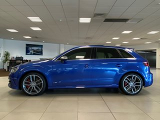 2015 Audi S3 8V MY15 2.0 TFSI Quattro Sepang Blue 6 Speed Direct Shift Hatchback.