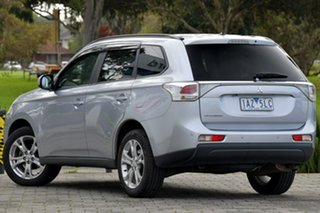 2013 Mitsubishi Outlander ZJ MY13 LS 4WD Silver 6 Speed Constant Variable Wagon.