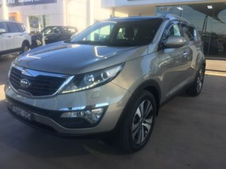 2013 Kia Sportage SL Series II Platinum Brown Sports Automatic.