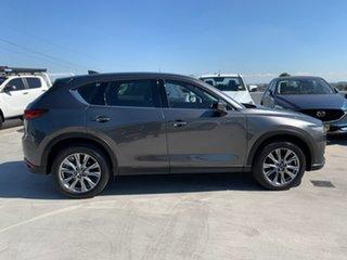 2018 Mazda CX-5 KF4WLA Akera SKYACTIV-Drive i-ACTIV AWD Grey 6 Speed Sports Automatic Wagon.