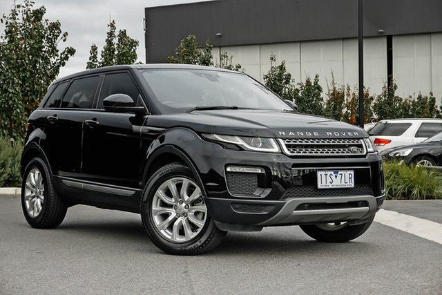 Used Land Rover Range Rover Evoque L551 MY20 SE Essendon Fields, 2019 Land Rover Range Rover Evoque L551 MY20 SE Black 9 Speed Sports Automatic Wagon