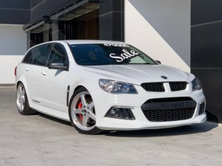 2015 Holden Special Vehicles ClubSport Gen-F MY15 R8 Tourer White 6 Speed Sports Automatic Wagon.