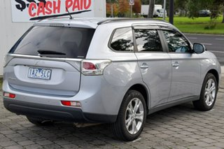 2013 Mitsubishi Outlander ZJ MY13 LS 4WD Silver 6 Speed Constant Variable Wagon