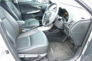 2010 Toyota Corolla ZRE153R MY10 Ultima Silver 4 Speed Automatic Sedan