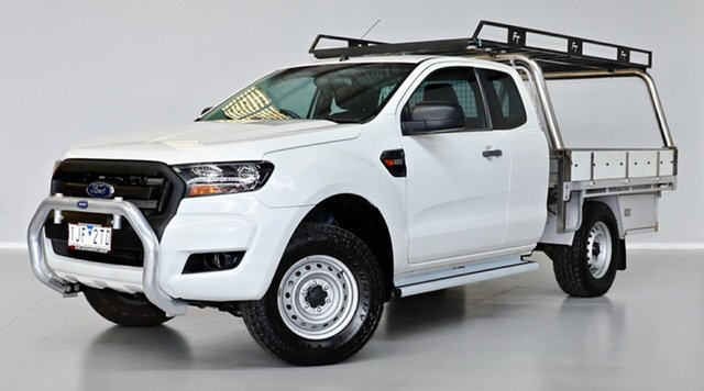 Used Ford Ranger PX MkII XL Hi-Rider Thomastown, 2016 Ford Ranger PX MkII XL Hi-Rider White 6 Speed Sports Automatic Cab Chassis