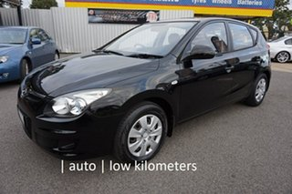 2011 Hyundai i30 FD MY11 SX Phantom Black 4 Speed Automatic Hatchback.