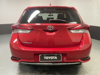 2016 Toyota Corolla ZRE182R Ascent Sport Red 6 Speed Manual Hatchback