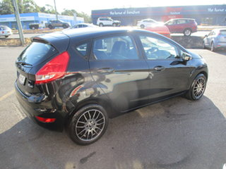 2012 Ford Fiesta WT CL Black 6 Speed Automatic Hatchback.